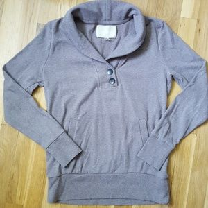 Banana Republic collared sweatshirt